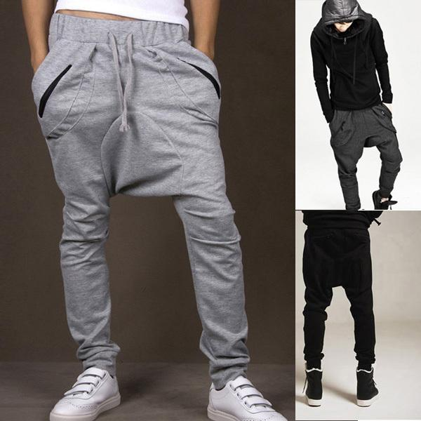 mens adult hip hop baggy harem pants boys skinny pencil trousers sweat pants new pant shirts. Black Bedroom Furniture Sets. Home Design Ideas