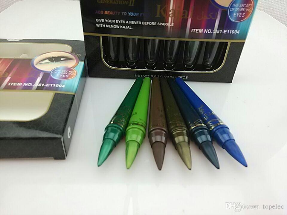 Professional Lady Makeup M.n Eye Shadow Pencil Set Waterproof Eyeliner Pencil Make Up Eye Liner Crayon Cosmetics Pen