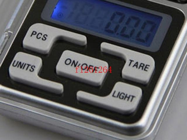 DHL Frete Grátis Capacidade 300 Grama LEVOU Mini Balança Digital 300g x 0.01 escala de Ponderação, 10 pçs / lote