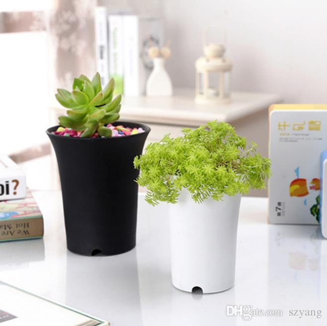 Garden Planters Pot With 6 Size Option Nursery Plastic Flower Pot For Outdoor Yard Lawn Garden Indoor Home Desk Or Bedside Planting