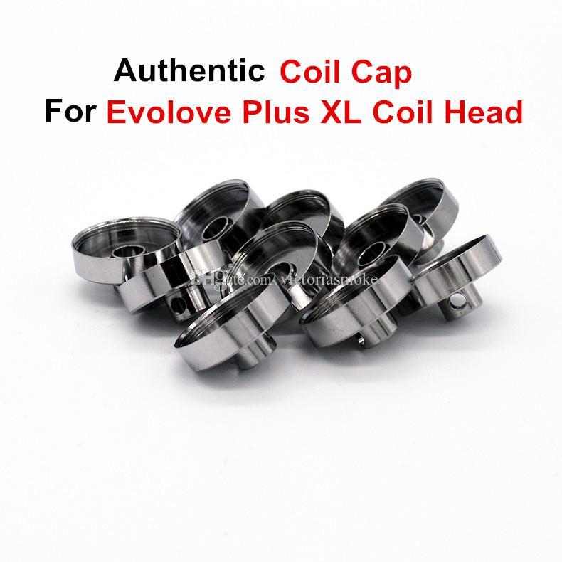 Autentico cappellino a spirale Yocan Evolve Plus XL ecografie a testa cilindrica Yocan Evolve Plus XL