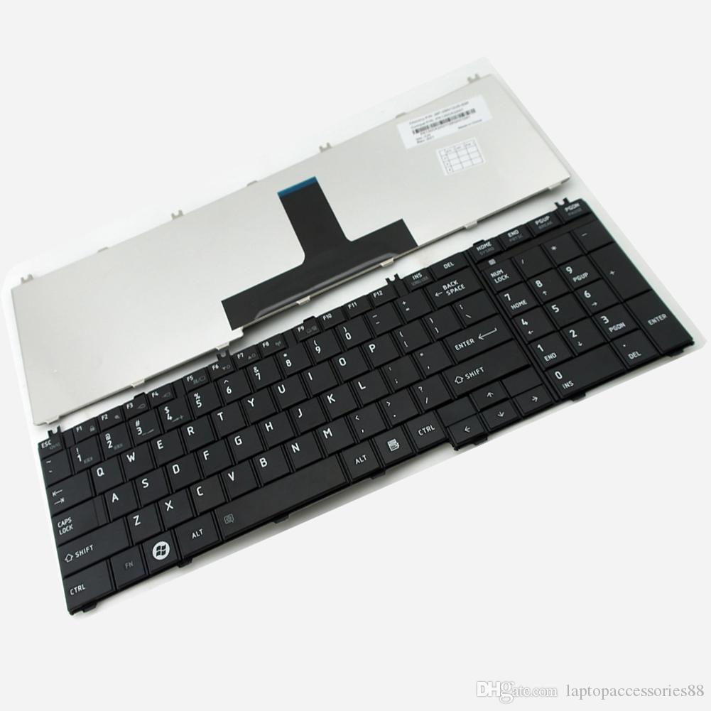 2017 New Black Laptop Us Keyboard For Toshiba Satellite ...