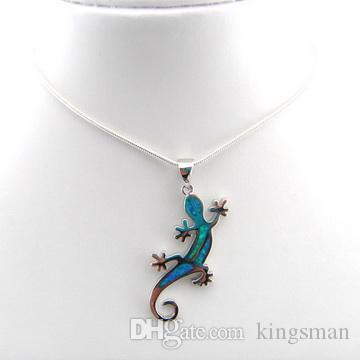 Bijoux opales avec pierre CZ; Pendentif opale à la mode pendentif mexicain pendentif opale des dernières modes OP213A