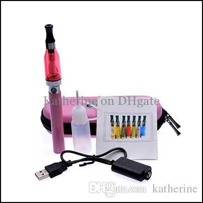 CE8 650mah 900mah 1100mah eGo-T Kits CE8 CE9 D5 5ml Atomizers Electronic Cigarette E Cig CE9 Kits as CE4 Starter Blister Kits