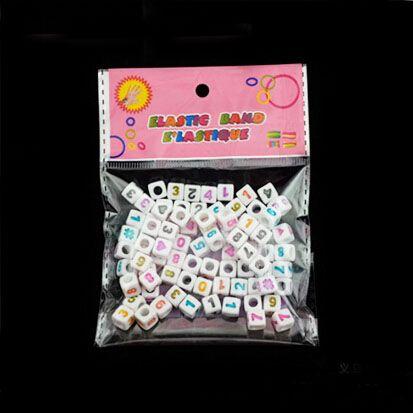cubo branco + coração colorido coração, miçangas 7 mm bom para crianças artesanato frete grátis