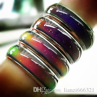 혼합 크기 기분이 귀하의 온도 감각을 밝혀 귀하의 온도에 색상을 변경 저렴 한 패션 보석 HJ164