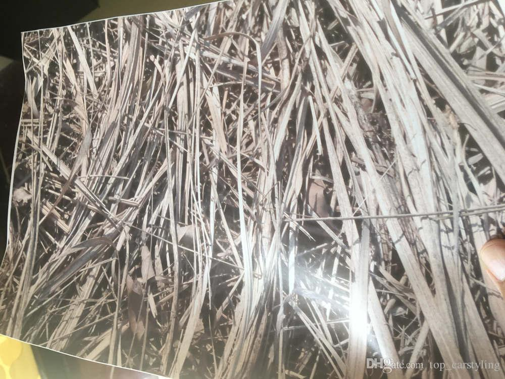New ! Grass Camo Vinyl wrap leaf camouflage Mossy Oak Car wrap Film foil for Vehicle Track covers stickers 1.52x30m 5x98ft