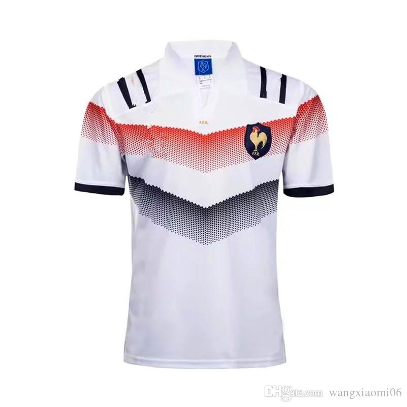 878e19fe43b 2019 2018 New France Super Rugby Jerseys 17 18 France Shirts Rugby Maillot  De French Rugby Jersey Size S 3XL From Wangxiaomi06