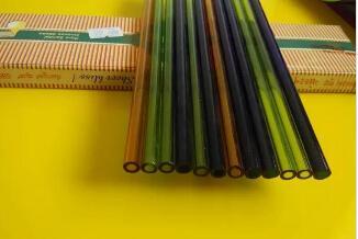 accessoires narguilé en gros - verre de couleur, long 20cm, couleur livraison aléatoire
