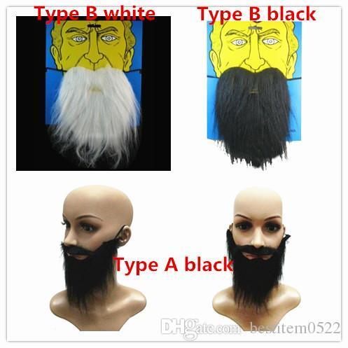 Großhandel Neue Halloween Maskerade Gefälschte Augenbraue