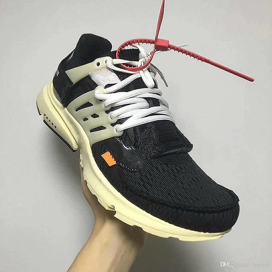 c2eaa49d8d3 2019 The Ten OFF WHITE X Air Presto Virgil Abloh Men And Women Running  Sneakers Top Outdoor Sport Shoes 2017 Hot Sale From Lypaicl