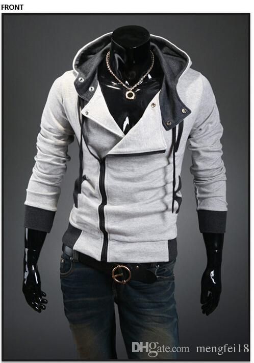 2017 más nuevo NUEVO Assassin's Creed desmond miles Style cosplay sudadera con capucha multicolor envío gratis opcional D225