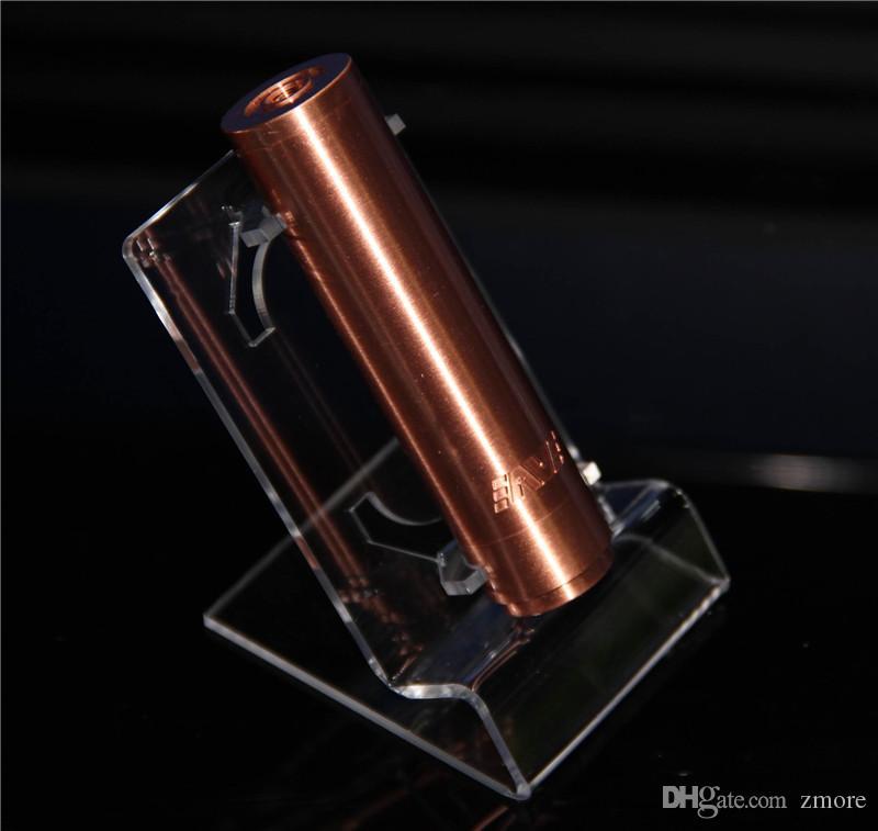 ecig Display Mod steht Fällen Rack Acryl klar Vitrine Regal Halter für e Cig Kit Vaporizer Stift elektronische Zigarette Ego Box Mods Batterie