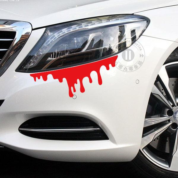 Exterior Accessories Car Stickers 2 Size Reflective Red Murderous ...