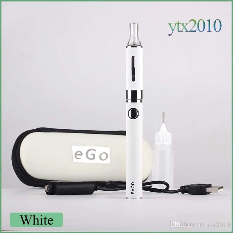 MT3 EVOD Zipper Case Starter kit E cigarette 2.4ML Vaporizer 650/900/1100 mah EVOD Battery 510 Thread Electronic Cigarette
