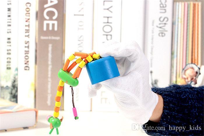 Juguetes para bebés Juguetes de madera Jirafas de baile Nuevos niños divertidos Educativos intelectuales pueden distorsionarse para niños Juguetes mecánicos creativos