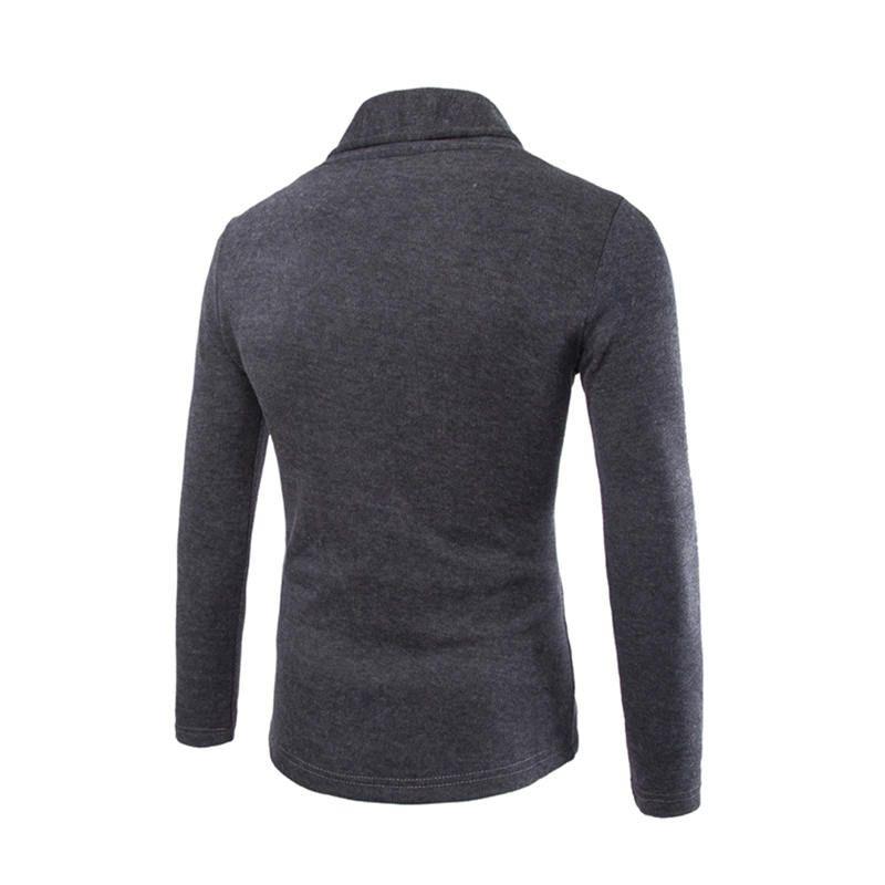 Hombres suéteres delgados Ropa de punto Ropa de punto para hombre Suéteres masculinos Con cuello en v Mezcla de algodón Tops Chaqueta de manga larga Suéteres 007