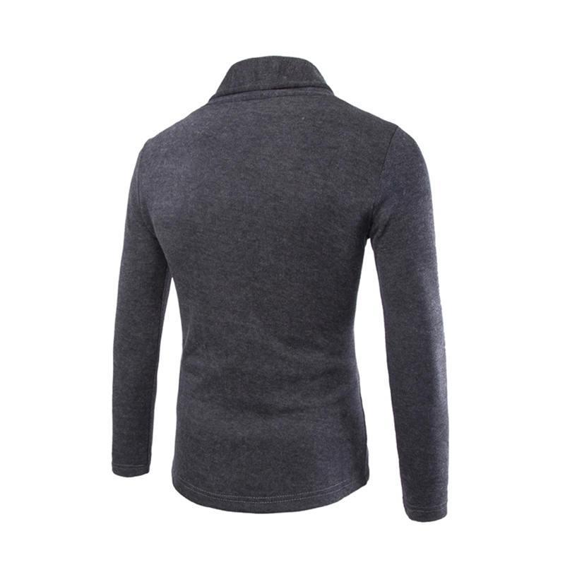 Männer Schlank Pullover Strickjacke Kleidung Mann Strickwaren Männlich Sweatercoats V-Ausschnitt Baumwollmischung Tops Langarm Jacke Pullover 007