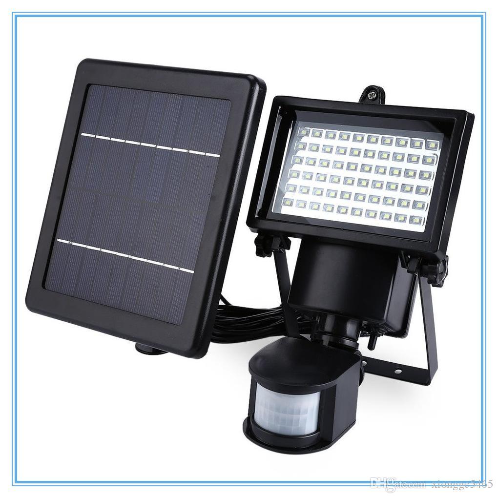 2019 Led Solar Lamp Waterproof Solar Light 60 Leds Pir