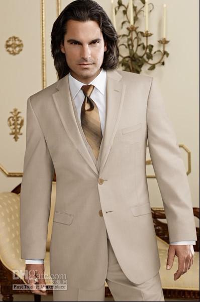 Custom Made Groom Tuxedos Groomsmen Notch Collar Men Wedding SuitsJacket+Pants+Tie+WaistcoatH88
