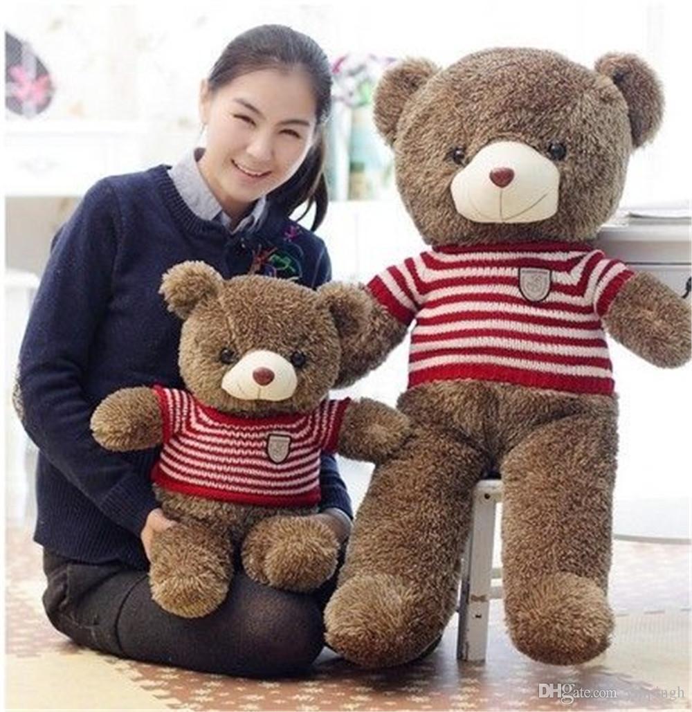 EMS giant teddy bears 1.8M - 1.2M Giant Big Plush Teddy Bear Valentines Day Brown Huge Teddy Bear