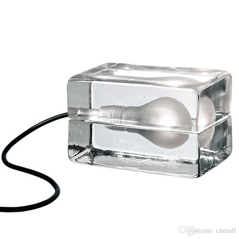 Ice cube table light glass crystal desk lamp ice block led table ice cube table light glass crystal desk lamp ice block led table lamp g940w mozeypictures Gallery