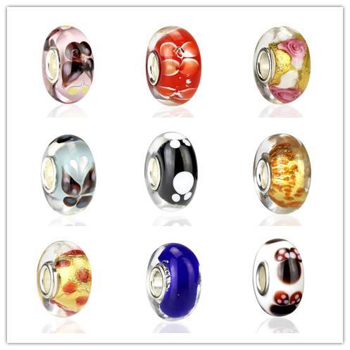 2016 NOVO 925 grânulos de Prata caber estilo europeu Pandora DIY Série 9 modelos mix MD02