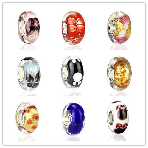 2016 NUOVI perline in argento 925 fit stile europeo Pandora serie DIY 9 modelli mix MD02
