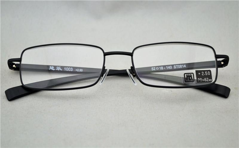 261e847fac7 Unisex Black Spring Hinge Readers Full Frame Slim Cheap Metal Black Frame  Reading Glasses Diopter +1.00 +2.50 Online Reading Glasses Pink Reading  Glasses ...