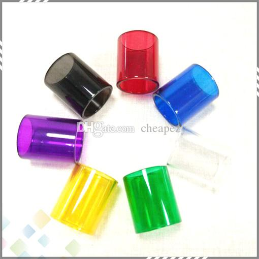 Colorful Griffin RTA Replacement Pyrex Glass Tube for Geekvape Griffin Atomizer Griffin Replacement Sleeve Tube Colorful DHL Free