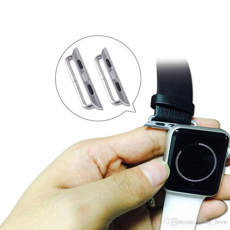 4 Farben-Uhrenarmband-Adapter für alle Apple-Uhr iwatch Anschluss Uhrenarmband-Adapter für iwatch 38mm 42mm