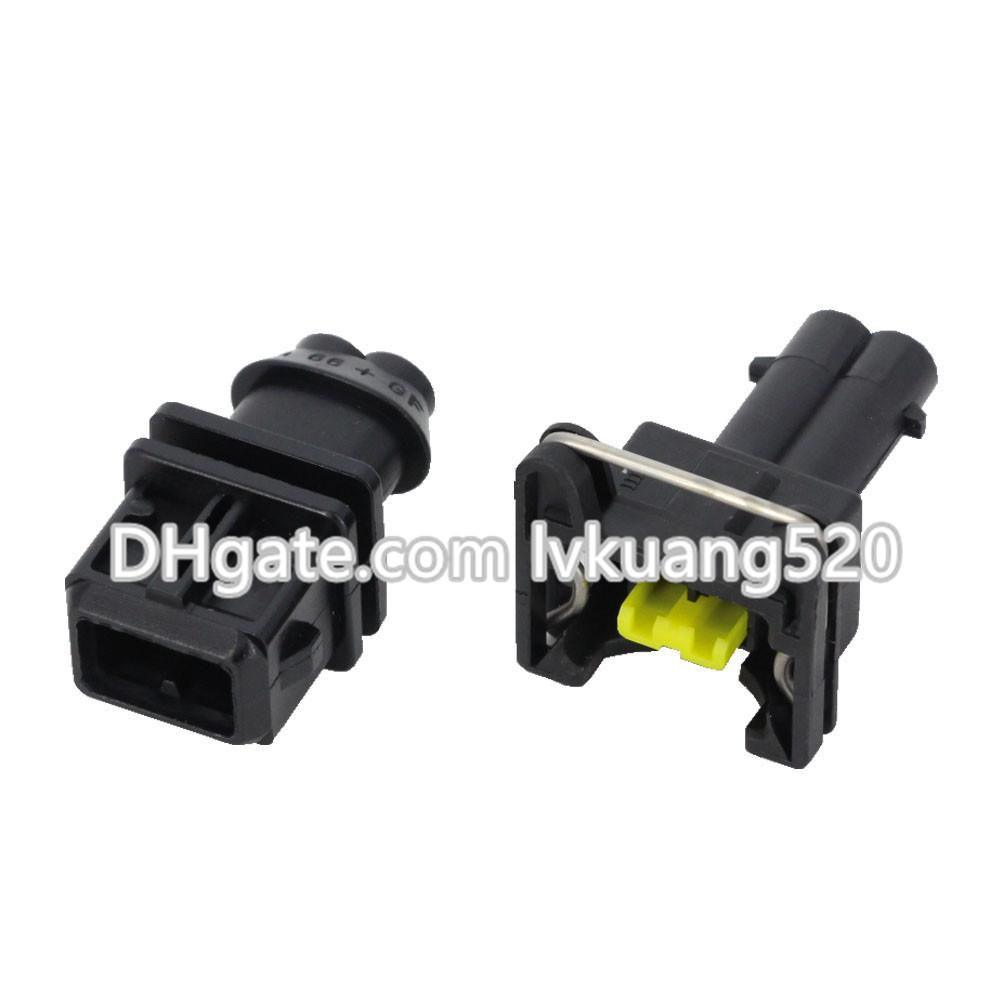 2 Pin Waterproof Automotive Connectors with Terminal Plug DJ7023C-3.5-11/21 Harness Connector Plug