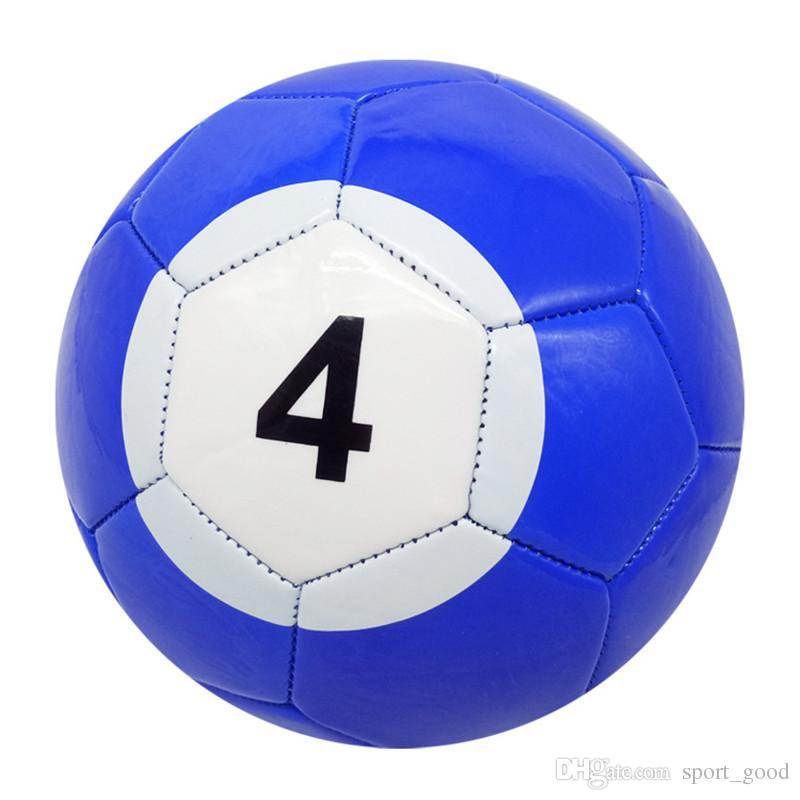 5# Inflatable Snook Soccer Ball Billiard Ball Snooker Football Snookball Outdoor Game Kick billiards