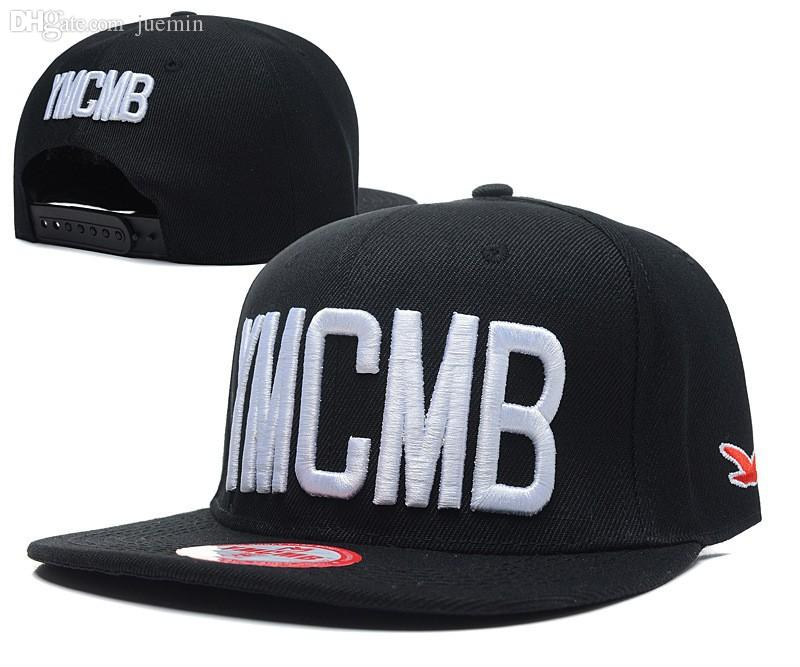 073b3e8ab01 Wholesale 2015 Fashion Embroidery YMCMB Snapback Men Bone Hip Hop Bboy Cap  Swag Snap Baseball Hat For Women Gorras Cap Adjustable 11styles Cap Hat  From ...