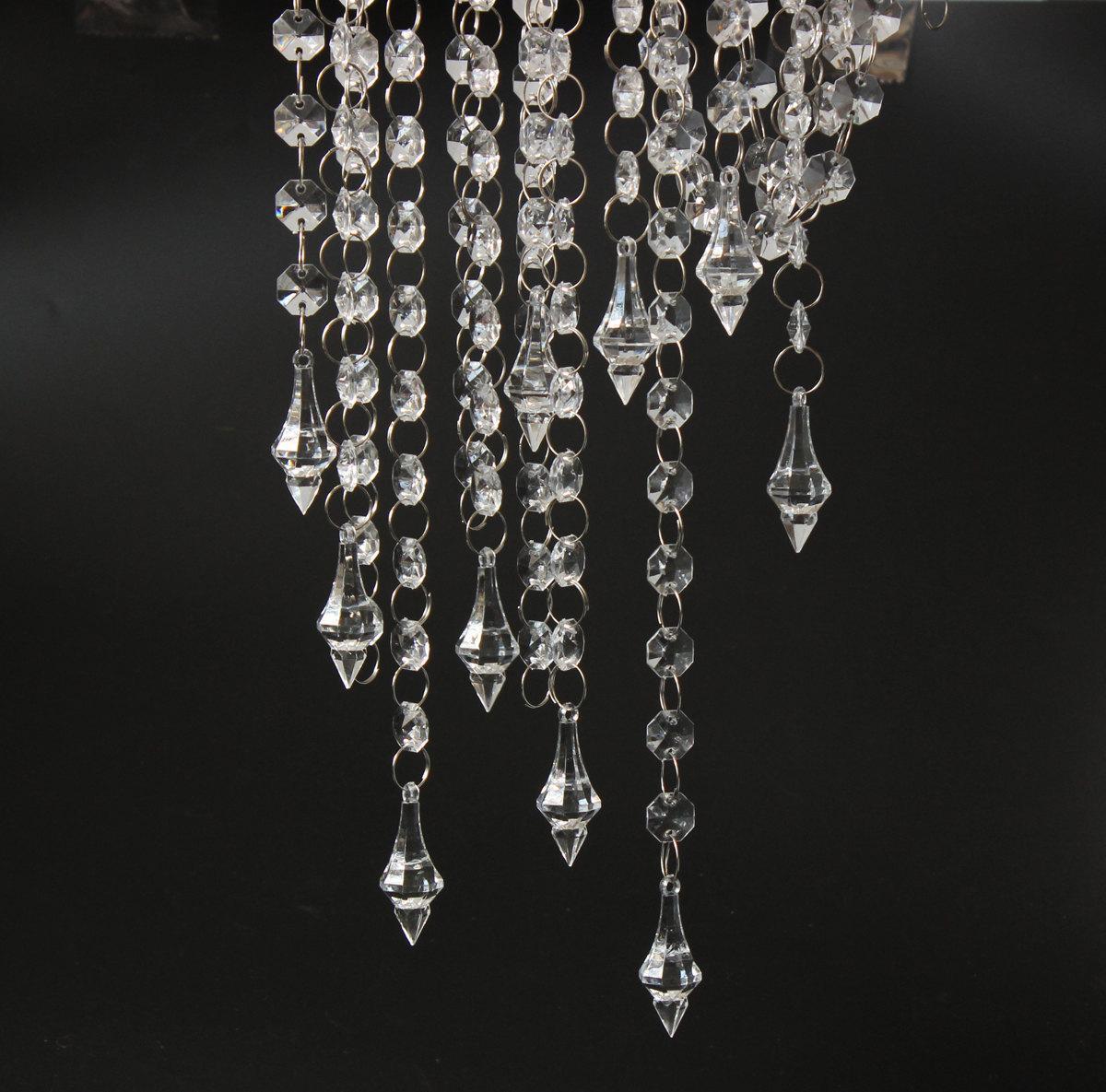 33ft crystal garlands acrylic bead strands manzanita tree wedding see larger image arubaitofo Images