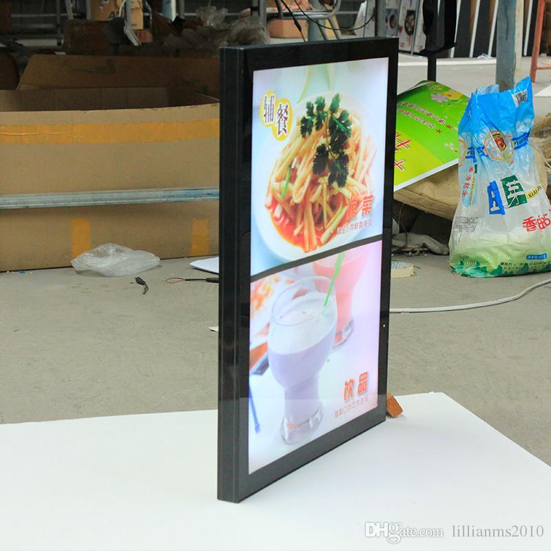 Magnetic Aluminum Frame Slim Led Menu Board,Magentic Led Menu Signs A2