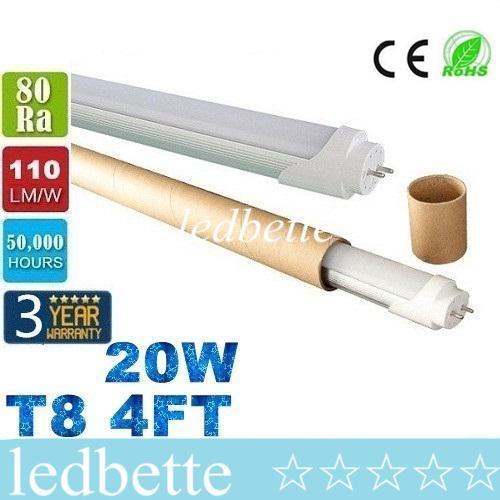 t8 4ft 1 2m led tubes light 20w 2200lm smd 2835 led fluorescent rh dhgate com