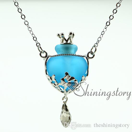 Halsketten für Asche Erinnerung Schmuck Andenken Urnen Schmuck Anhänger Asche Urne Anhänger für Asche Baby Urne Halskette