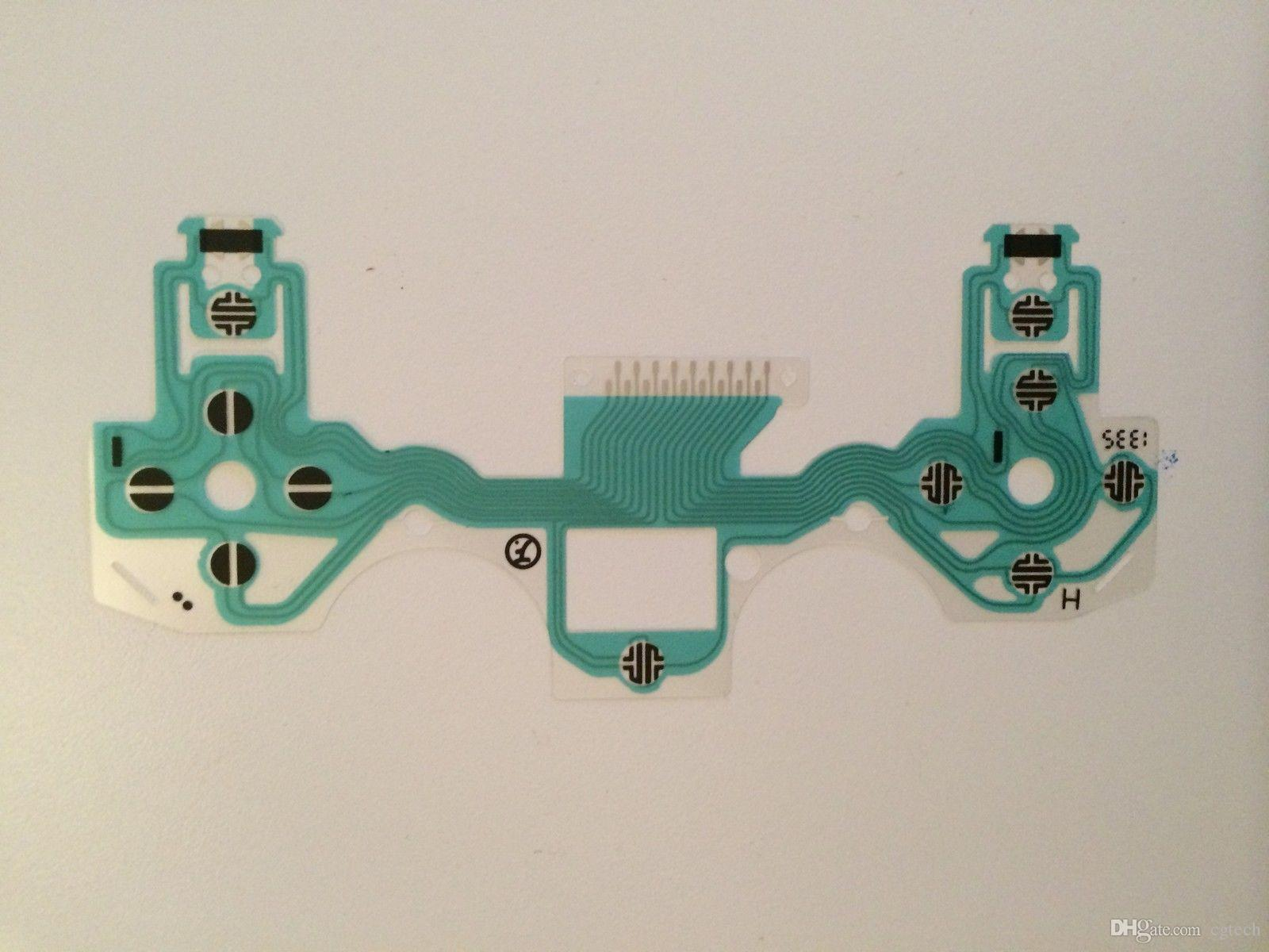 Circuito Flexible Ps4 : Replacement conductive film keypad circuit board pcb
