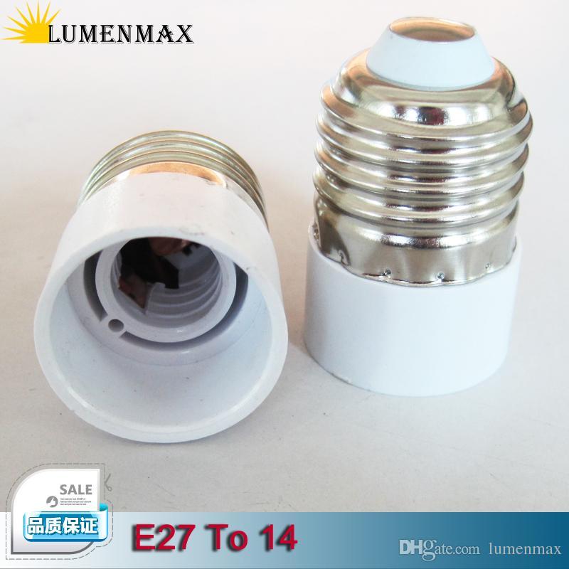 2018 X10 E27 Lamp Base & Lamp Holder E27 Socket Base To E14 Screw ...