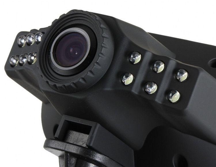 Mini Size HD 1920*1080P 12 IR LED Car Vehicle CAM Video Dash Camera C600 Recorder Russian Car DVR