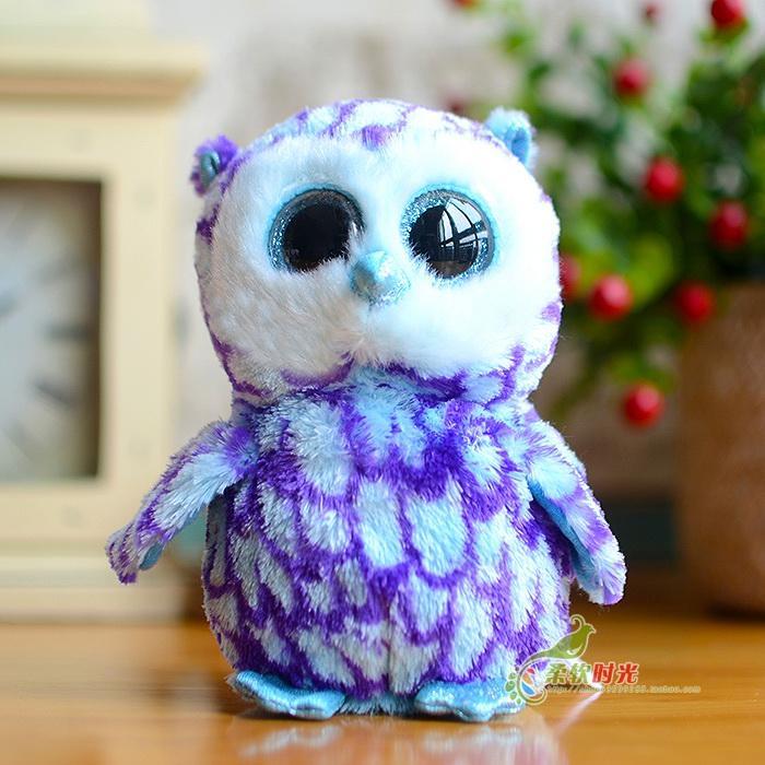 cheap baby gifts 2017 ty big eyes owl pumpkie beanie boos lovely plush toys 15cm59