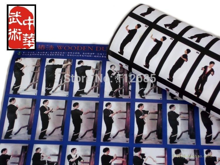 2017 mariaS Store Hot English Teaching Wing Chun Wall Map