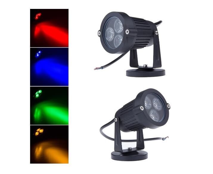 Best Quality 3*3W LED Lawn Light 85 265V 12V Waterproof
