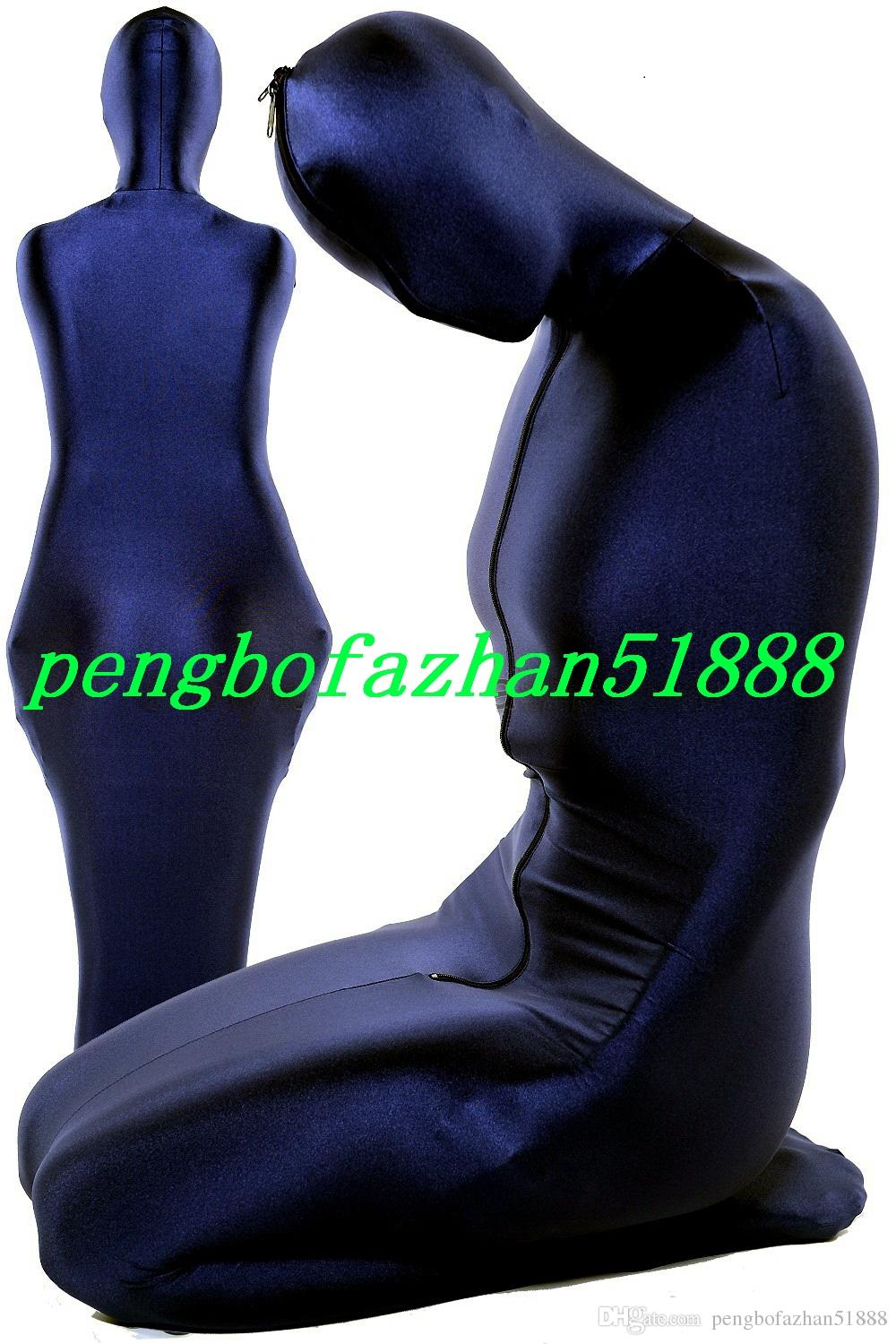 Sexy Mummy Suit Sleeping Bags New Lycra Spandex Mummy Suit Costumes Sleeping Bags Unisex Sexy Mummy Body Suit Costumes Outfit P159