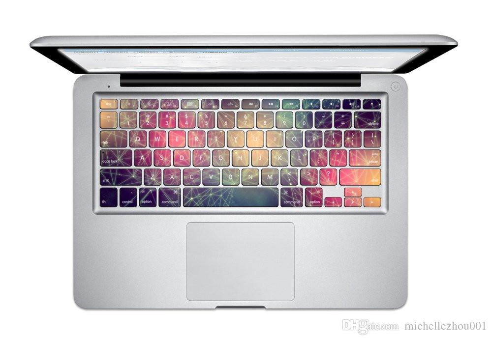 غطاء ملصق لوحة مفاتيح Van Gogh لـ Macbook Air 13 Pro و Pro Retian 13 15 17 inch لاصق ملصق لاصق حامي لوحة المفاتيح
