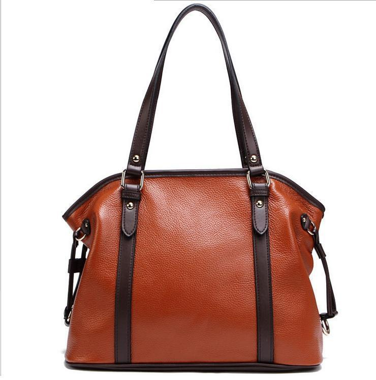 Ol Style Women Genuine Leather Handbags Women Vintage Shoulder Bag ...