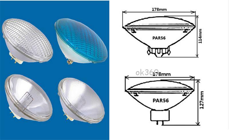 Luce di alta potenza 54W LED acciaio inossidabile 304 LED Luce piscina LED luce subacquea IP 68 PAR56 12V RGB proiettore