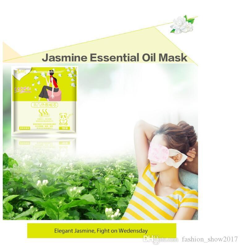Masque à vapeur Paquet de mélange des yeux Masque à la vapeur pour les yeux Soulagement de la fatigue Anti-poches
