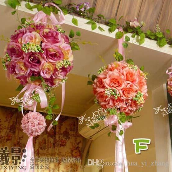 Eleganckie 2015 Wedding Bridal Bukiet Dekoracje 25 cm Sztuczne Kwiaty Wedding and Bridal Akcesoria Dhyz 01